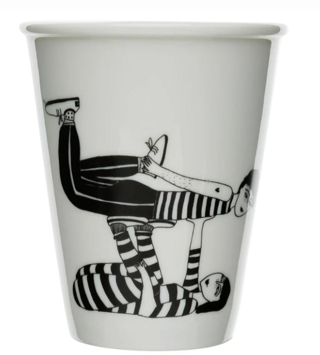 cup/beker flying couple