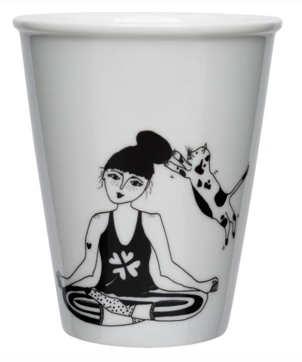 cup/beker zen with cats