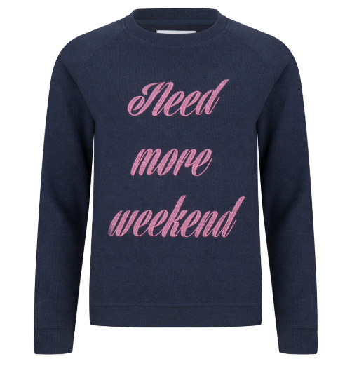 Need more weekend sweater
